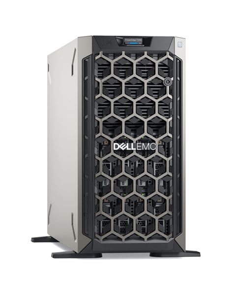 Dell PowerEdge T340 Tower Server, Grey, Intel Xeon E-2226G, 16GB RAM, 2x 480GB SSD+2x 2TB SATA+2x 1TB SATA, Dell 3 YR WTY